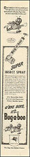 1944`Vintage ad for Bug-a-boo Insect Spray`Art Cartoon Cute (082915)