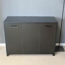 100cm chunky Occasional table sideboard unit tv storage fishtank cupboard Black