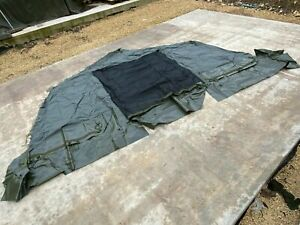 NEW British Army 12x12 Tent MK3 Door End Section - Spare Replacement Canvas