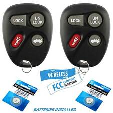 2 Car Key Fob Keyless Remote For 2001 2002 2003 Saturn L100 L200 LW200 LW300