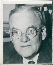 1955 Portrait of Sec of State John Foster Dulles Original News Service Photo