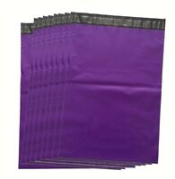 PURPLE Colour Mailing Bags Postal sacks Plastic Envelopes Self Seal Post Bags