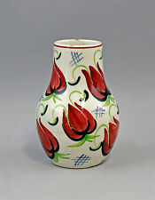 99845297 Keramik Vase Schramberg SMF Dekor Luna Magnolienblüten