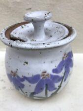 New ListingHandmade Earthenware/Ceramic/Stone ware Honey Pot Flowers
