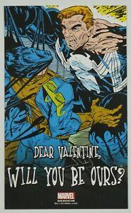 Venom Dear Valentine Will You Be Ours? Postcard - Todd McFarlane art 2012 promo