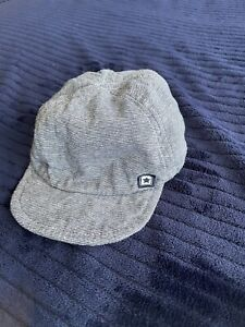 GEORGE BLUE FABRIC CLOTH BABY HAT CAP AGE 12-18 MONTHS