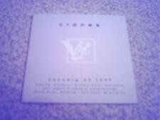 "CRANES - ""JANUARY 23 1997"" (NEW PROMO CD)"