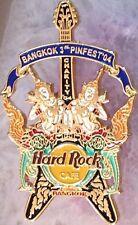 Hard Rock Cafe BANGKOK 2004 3rd PINfest PIN FEST Charity Guitar - HRC #25403