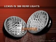 01-05 LEXUS IS-300 IS300 TAIL LIGHTS CHROME 04 03 02