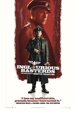 Inglourious Basterds movie poster : Christoph Waltz poster : 11 x 17 inches