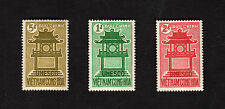 1961 RVN South Vietnam Full Set 3 Stamps MNH Temple 15th Anniversary of UNESCO