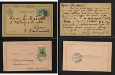 Serbia postal card   and postal letter card  used          MS0218