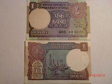 INDIA PAPER MONEY - OLD RE.1/- RARE NOTE - 1990-BIMAL JALAN-FORMER RBI GOVERNOR