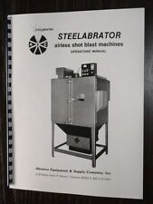 Steelabrator Model B100 & B150 Shot Blaster Manual