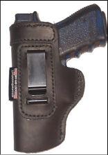 LT Sig Sauer P 938 IWB Left Hand Black Leather Gun Holster
