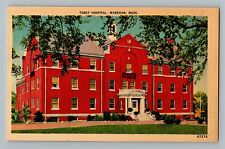 Wareham Massachusetts Ma Tobey Hospital Vintage Postcard 1940s