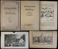 Gottwald - Casa libro del Boda - para 1920 - Historia, Ortskunde, Berlín - xz