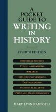 A Pocket Guide to Writing in History, Mary Lynn Rampolla, 0312403577, Book, Good