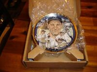 """NY YANKEES """"THE LEGENDARY LOU GEHRIG"""" 6.5"""" LIMITED EDITION COLLECTORS PLATE 1992"""