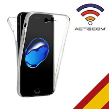 Actecom funda 360 doble gel silicona transparente para Sony Xperia Xa