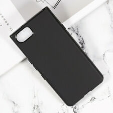 For Blackberry Keyone Mercury Black TPU Matte Gel skin case back cover