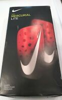 Nike Mercurial Lite Soccer Shin Guards Red-Large