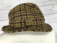 Men's Christys London Tweed Trilby Hat - Medium - Wool - Great Condition