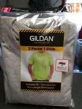 Gildan Workwear3 packs of 2 in a pack  Two Pocket T-shirts Medium
