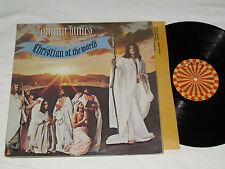 TOMMY JAMES Christian Of The World LP 1971 Roulette Records USA Vinyl Album VG+