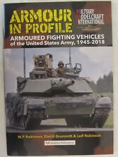 Book: Armour in Profile - Armoured Fighting Vehicles USA 1945-2018