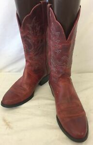 Ariat Heritage Russet Leather Cowgirl Boots 7B