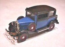 1932 Fiat Balilla 2-Door Sedan, 1:43rd Scale Diecast