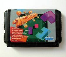BLOCKOUT (JAP version) - Jeu pour Megadrive - Block Out Game for Sega Mega Drive
