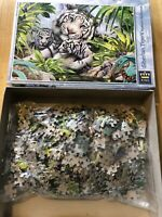 King Animal Collection SIBERIAN TIGER 1000 Piece Jigsaw Puzzle 100% complete
