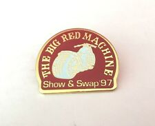 Vintage The Big Red Machine Show & Swap '97 Pin Hells Angels 1997