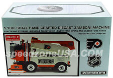 Motor City Zamboni Machine Philadelphia Flyers Orange 1/18 Scale 95009