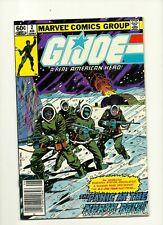 GI Joe: A Real American Hero #2 1st print, newsstand, 8.0 VF, Marvel