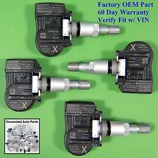 Set of 4 Nissan TIRE PRESSURE SENSOR TPMS OEM 40700-3AN1A w/ keyless SET-TS48
