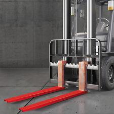 Vevor 84x4 Forklift Pallet Fork Extensions Pair Steel Great Lift Truck