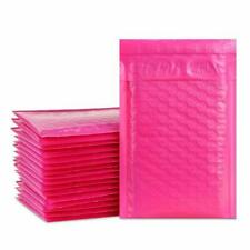 Any Size Poly Pink Bubble Mailers Mailing Shipping Padded Bags Envelopes