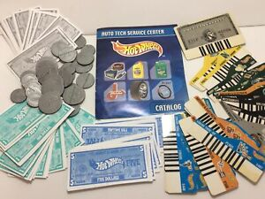Millennium Hot Wheels Auto Tech Center Play Cash Coin Money Key Card Amex Credit