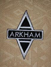 Batman Arkham Asylum Cap Movie Iron/ Sew-on Embroidered Patch / Badge/ Logo