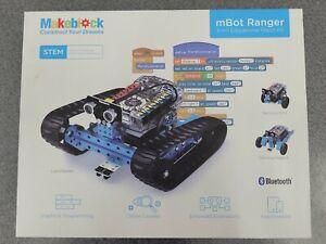 MakeBlock mBot Ranger 3-in-1 Transformable STEM Educational Robot Kit New Sealed