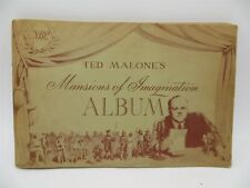 Vintage 1940 NBC Ted Malone's Mansions of Imagination Album - National Broadcast
