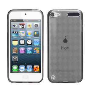For ipod touch 5 6 5th Generation Candy Hard Skin Case Cover Transparent Clear