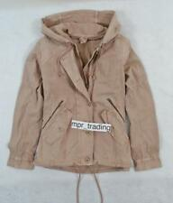NWT Women's American Eagle Hooded Military Parka Vest Jacket Coat Pink S L XL