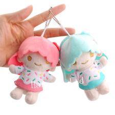 Sanrio Little Twin Stars Cute Soft Plush Toy Pendant Keychain Key Ring 5''