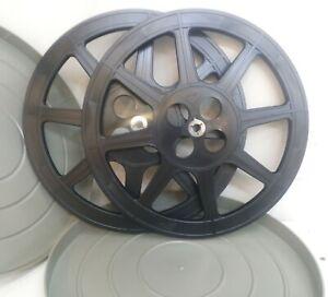 2 Bobine Film super 8 diametro 35cm