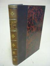 Livres anciens et de collection reliés sur Littérature française