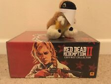 RED DEAD REDEMPTION 2 COLLECTORS Edition Metal BOX chest bandanna + more